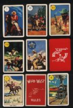 Cards game Wild West 1961 by Pepys (1)